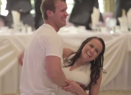 Couple's Surprise Wedding Dance To MKTO's 'Classic' Is Positively Infectious