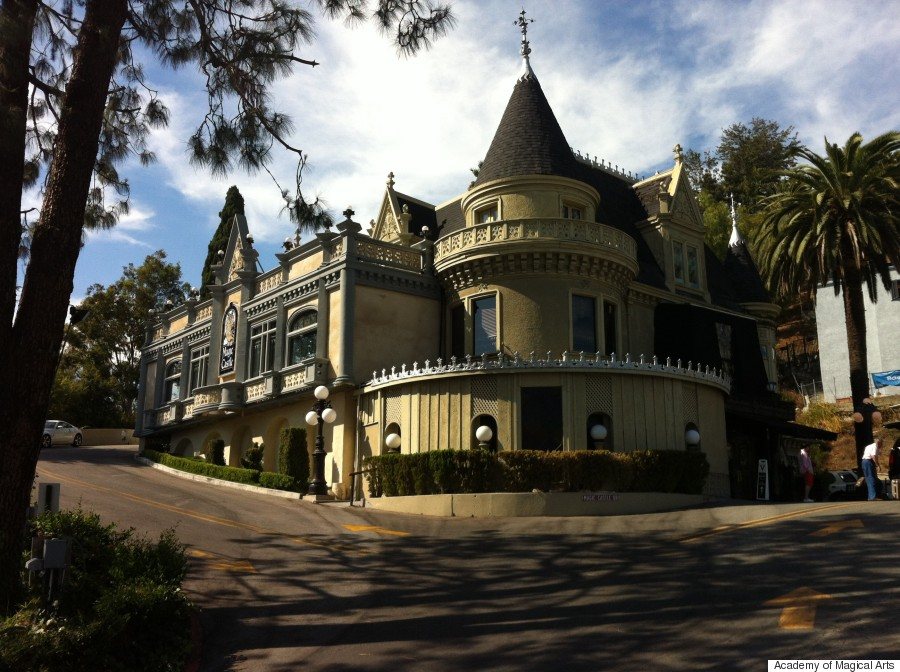 magic castle exterior