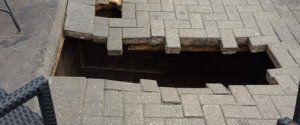FULHAM PAVEMENT COLLAPSE