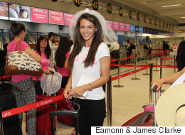 Michelle Jets Off For Dubai Hen Do
