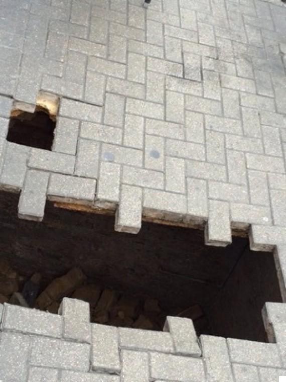 fulham pavement collapse