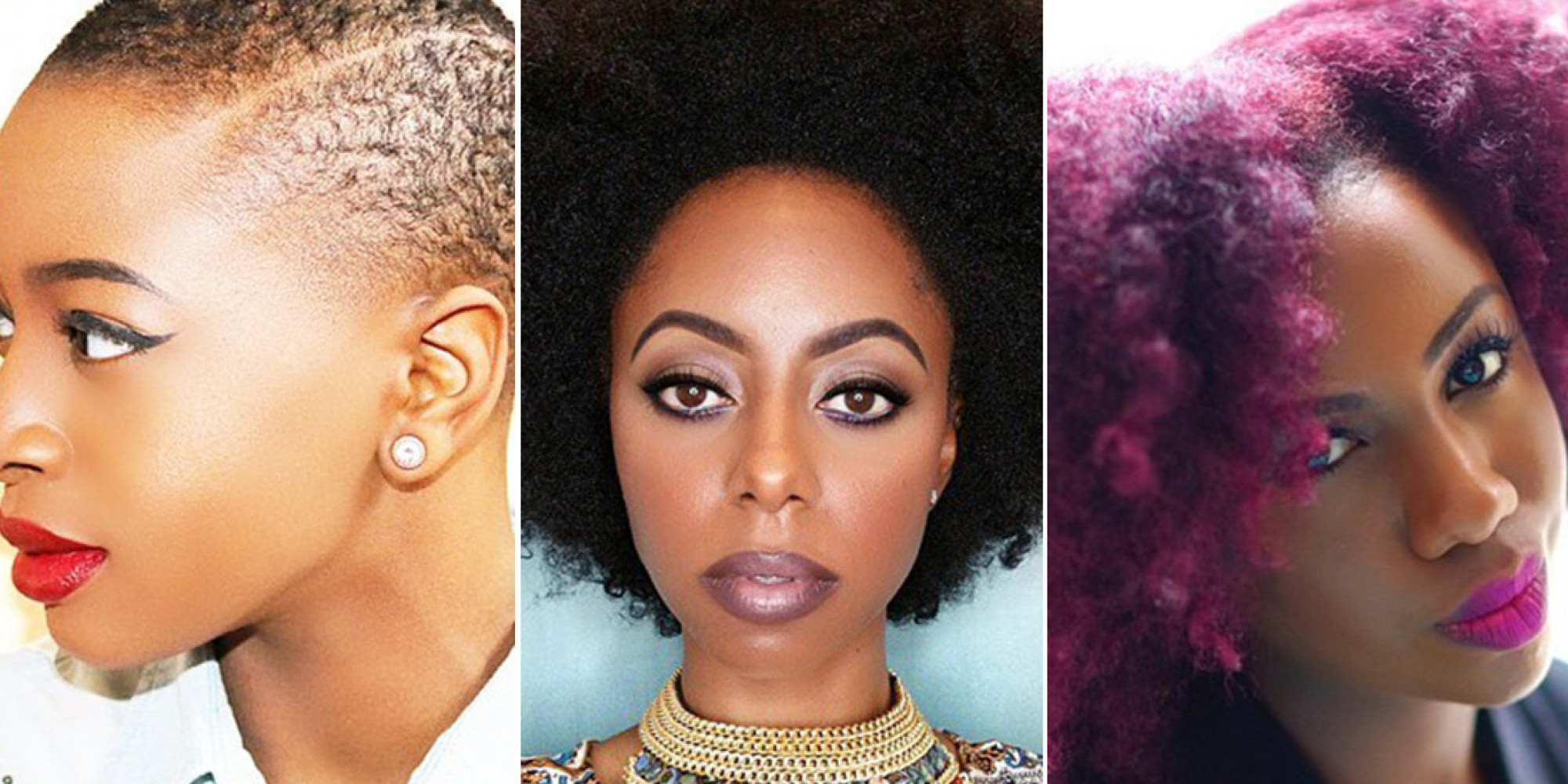 Natural Hair Haircuts For Any Length And Texture Huffpost
