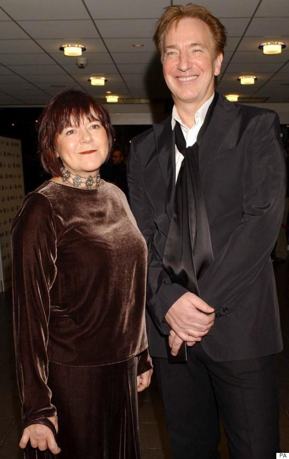 Alan Rickman couple