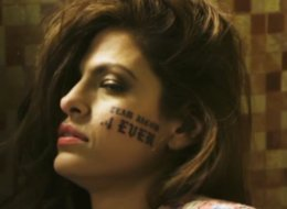 Eva Mendes Gets Face Tattoo For MTV Movie Awards
