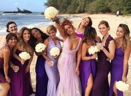 Rihanna Is A Total Boss As A Bridesmaid At A 4/20 Wedding