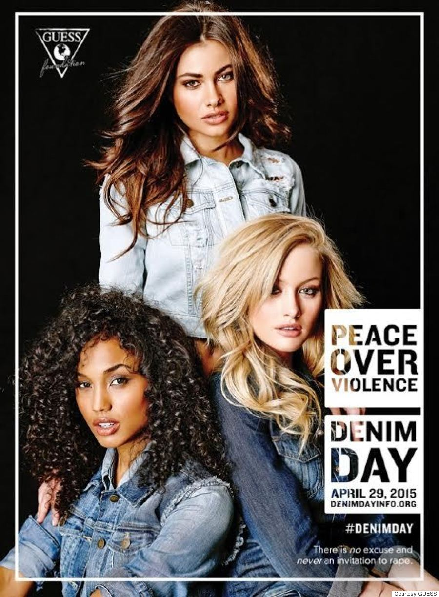 guess denim day