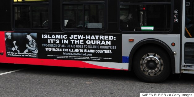 'Killing Jews Is Worship' Ads Set To Go Up On NYC Buses, Subways