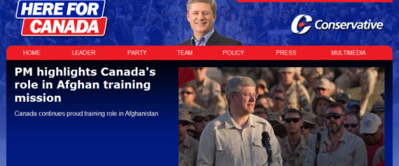Conservative Party Website Hacked