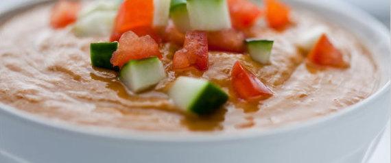 30 recetas de cremas y sopas fr as que te har n desear que for Cenas frias ligeras
