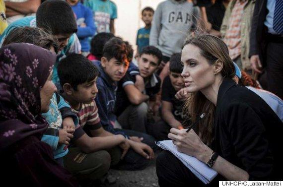 angelina jolie syria