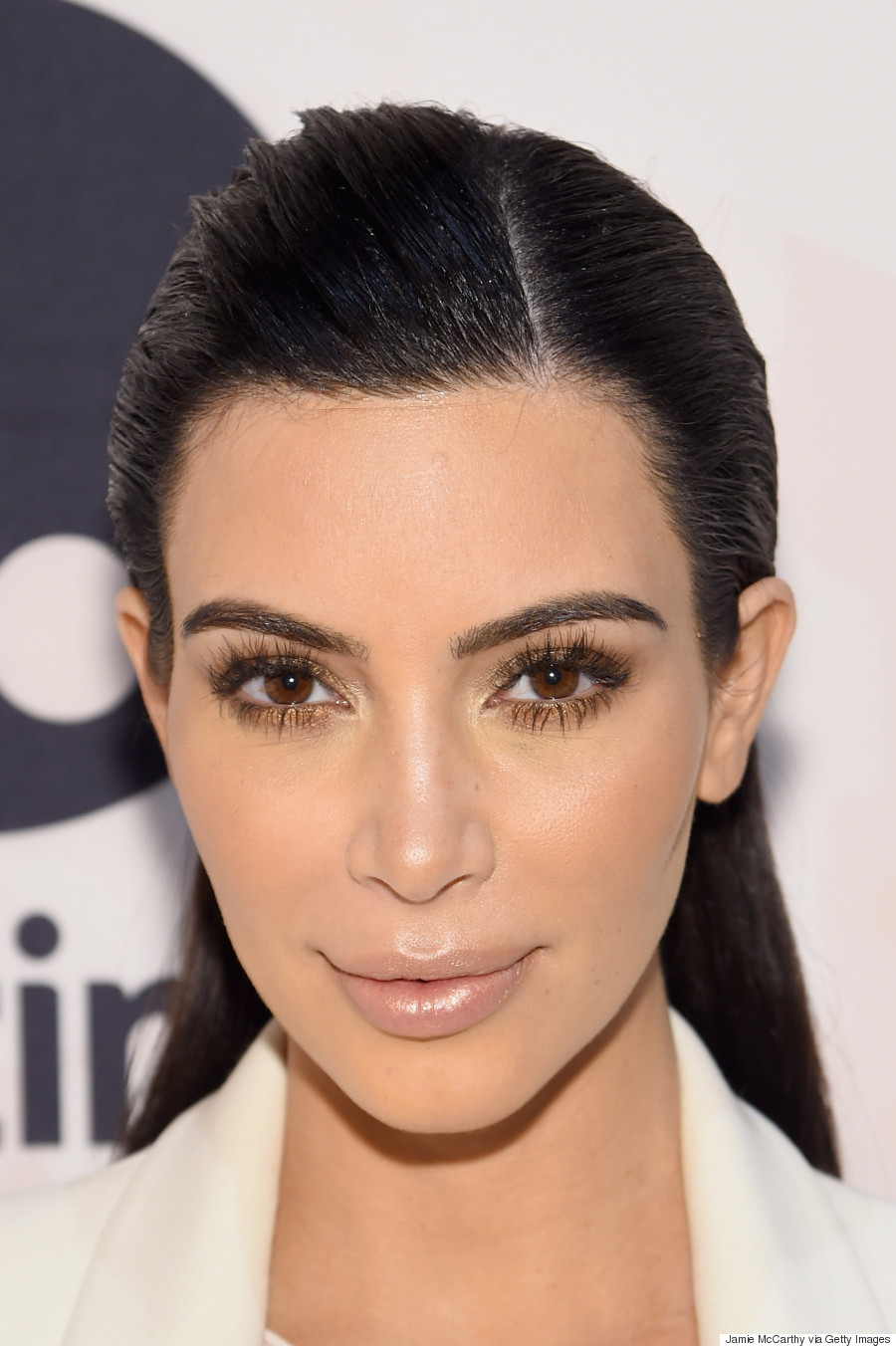 Kim Kardashian Wears Her Heart On Her Handbag At Variety