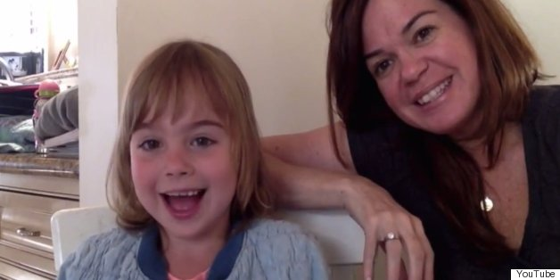 WATCH: This Adorable 7-Year-Old Explains How Her Two Moms Had A Baby