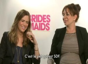 Kristen Wiig Maya Rudolph Bridesmaids Interview