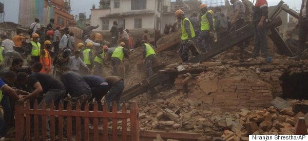 A Massive Earthquake Has Just Leveled Much Of Katmandu