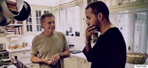 Harrison Ford Tells David Blaine To 'Get The F*** Outta My House'