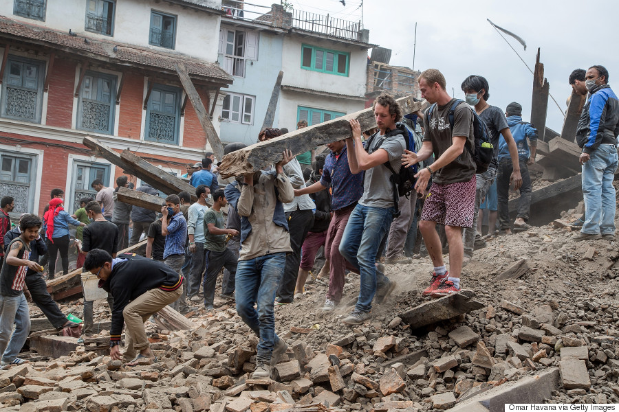 Photos And Video Capture The Tragic Devastation From Nepal's ...
