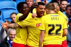 Watford celebrate | Pic: PA