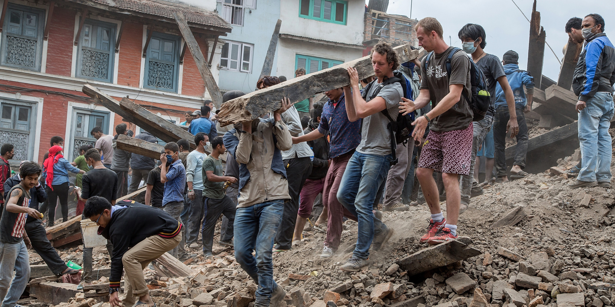 government and business relationship in nepal earthquake