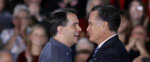 Scott Walker Mitt Romney
