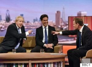 Ed Miliband Boris Johnson Marr