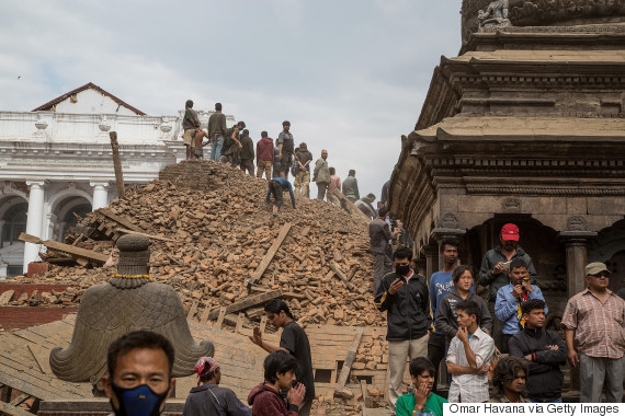 nepal search earthquake