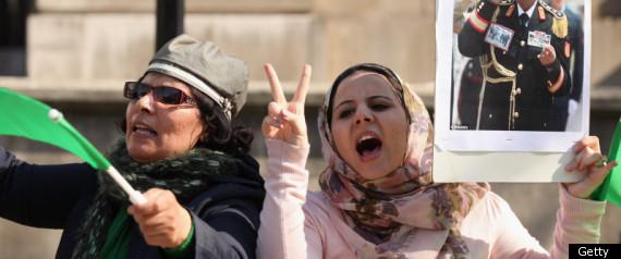 PRO GADDAFI WOMEN