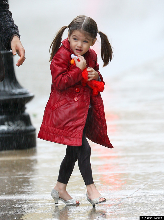 Suri Cruise S Shoe Collection Worth 150 000 Report Huffpost