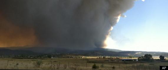 ARIZONA WILDFIRE EXPANDS EVACUATION