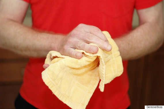 tea towel hygiene
