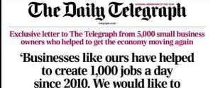 DAILY TELEGRAPH LETTER