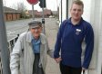 Teen Aldi Worker Walked Hand-In-Hand With Pensioner And Carried His Shopping All The Way Home