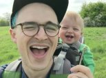 Baby Dissolves Into Infectious Giggle-Fest After Seeing First Dandelion