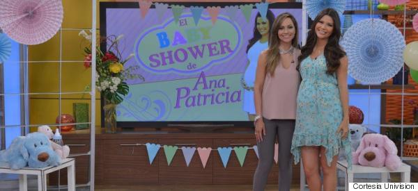 EL CONMOVEDOR 'BABY SHOWER' DE ANA PATRICIA