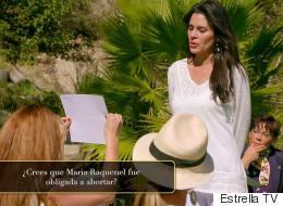 María Raquenel habla por primera vez y revela que abortó