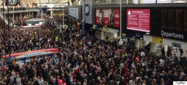 Huge Delays At Waterloo After Person Hit By Train