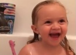 Adorable Little Girl Loves Luke Bryan And Wants You To Know It