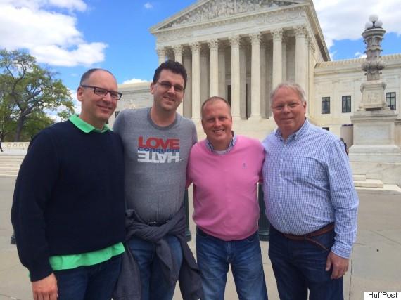 C.A. Lee III, Patrick Scarborough, Jason Turner and Robert Listerman.