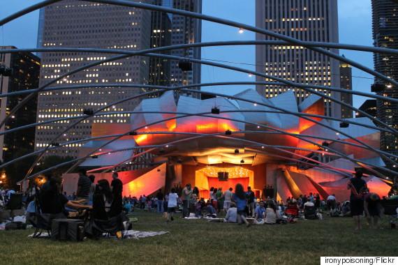 concert in millenium park
