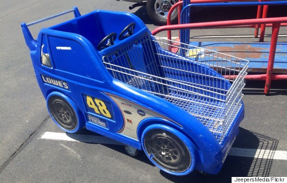 shopping cart race