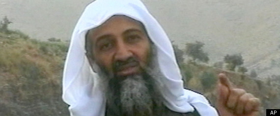 where is osama in laden. Osama bin Laden is seen in this image broadcast Wednesday April 17, 2002, by the London-based Middle East Broacasting Corp. (AP Photo/MBC via APTN)