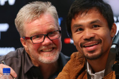 Many Pacquiao and Freddie Roach