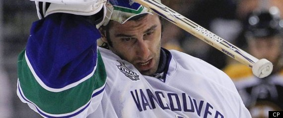 CANUCKS BRUINS STANLEY CUP LUONGO