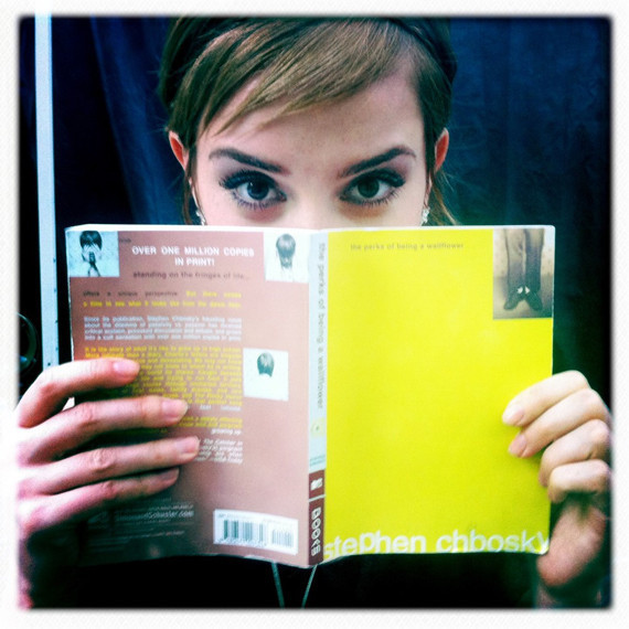 Emma Watson In 'The Perks Of Being A Wallflower': Logan ... Emma Watson Book