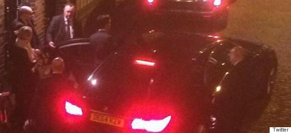 Which 'Sexy' Politician Was Caught Leaving Russell Brand's House Late Last Night?