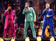Take That Kick Off Tour With Fire, Rain... And Dodgy Suits