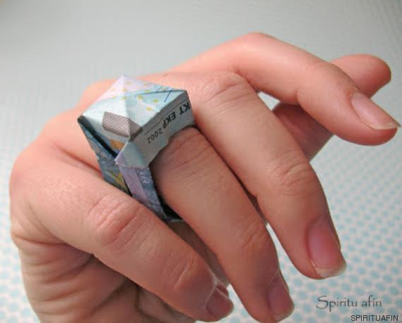 anillo moneygami