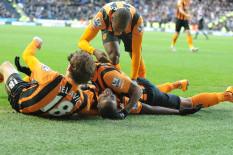 Hull City players | Pic: PA
