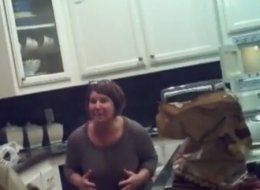 Woman Learns She'll Be A Grandma Through Hilarious 'Bun In The Oven' Prank