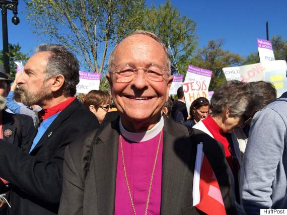 Bishop Gene Robinson.
