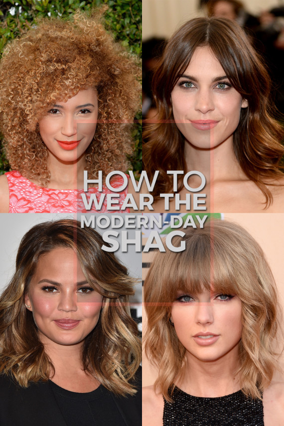 Shag Hairstyles Are Having A Major Moment Here S How To